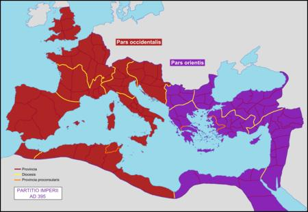 Quelle année marque t-elle la chute de l'Empire romain d'Occident ?