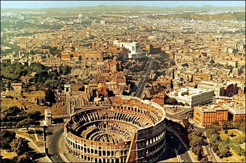 Bac : Le patrimoine, le centre historique de Rome