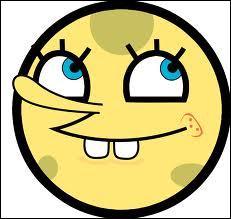 Ce smiley ressemble à un personnage de dessin animé. Mais lequel ?