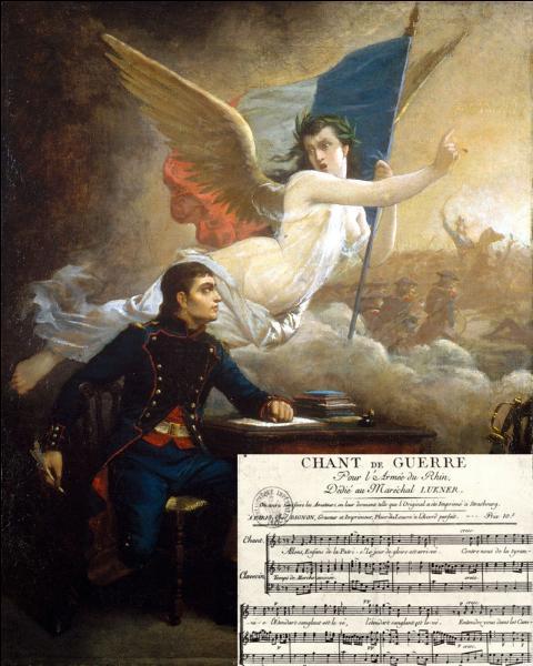 L'auteur du  Chant de guerre pour l'armée du Rhin , la future  Marseillaise , est l'oeuvre de :