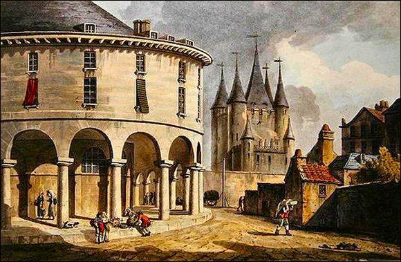 Où était emprisonné Louis XVI juste avant son départ pour la place de la Révolution où il fut exécuté ?
