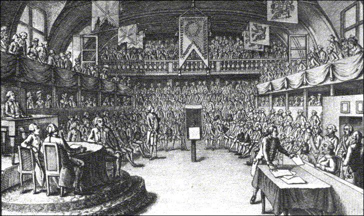 Quelle assemblée a succédé à l'Assemblée législative ?