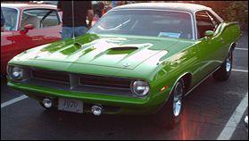 Quel est ce muscle car ?