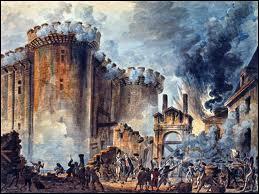 Quand a eu lieu la prise de la Bastille ?
