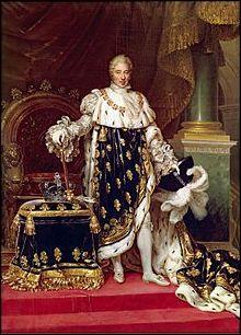 Quand a eu lieu le règne de Charles X ?