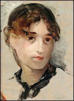 Artiste elle-même, élève d'Edouard Manet, elle servit souvent de modèles à ses amis peintres impressionistes. Elle a 30 ans sur cet autoportrait. Qui est-elle ?