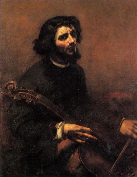 Le violoncelliste , un autoportrait de 1848, où l'artiste s'est représenté en musicien de la Renaissance. Il a 26 ans