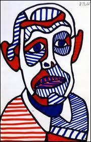 Il a 65 ans, en 1966, lorsqu'il réalise cet autoportrait. Qui est ce peintre, sculpteur et plasticien français, né au Havre en 1901 ?