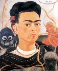 Quelle artiste mexicaine a peint cet autoportrait en 1940, à l'âge de 33 ans ?