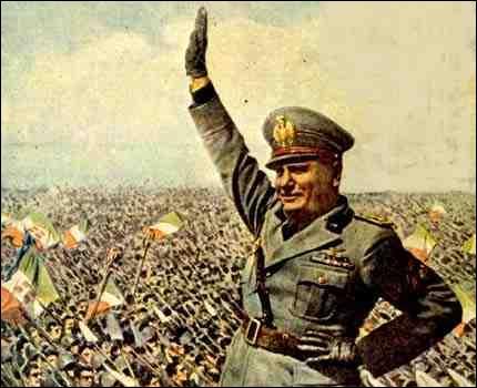 Quel était le surnom de Benito Mussolini ?