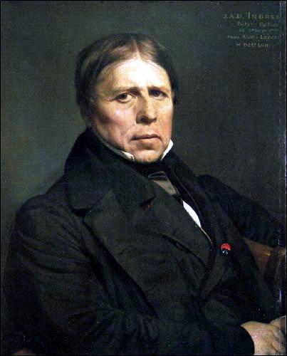 Je suis le plus grand portraitiste des années 1800 en France; mais j'ai aussi peint des odalisques.