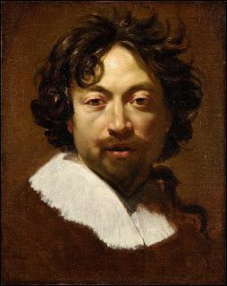 Premier peintre de Louis XIII, je suis apprécié pour mes toiles religieuses ou allégoriques.