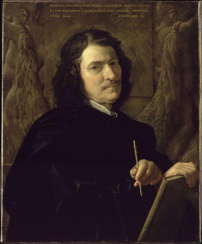 Moi qui fais profession des choses muettes , je suis le plus célèbre peintre du classicisme français.