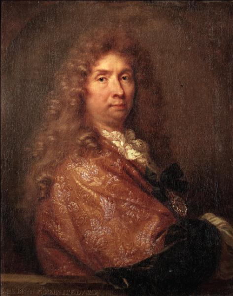 Louis XIV m'a confié la peinture des plafonds de la Galerie des glaces à Versailles.
