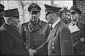 Comment appelle-t-on la rencontre entre Hitler et Pétain qui scelle le principe de la collaboration entre l'Allemagne nazie et le régime de Vichy ?