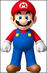 Quelle est la couleur de la salopette de Mario dans  Super Mario Bros , sorti en 1985 ?