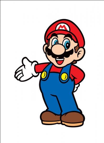 Mario a un accent :