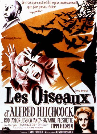 A quelle écrivaine britannique doit-on la nouvelle intitulée  Les oiseaux , adaptée au cinéma par Alfred Hitchkock en 1962 ?