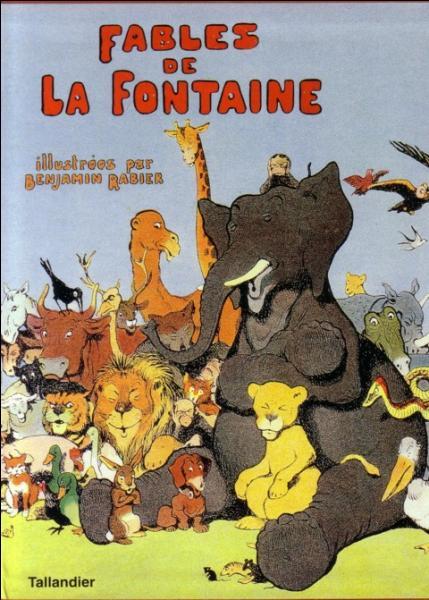Complétez cette fable de La Fontaine :  Un jour sur ses longs pieds allait je ne sais où...
