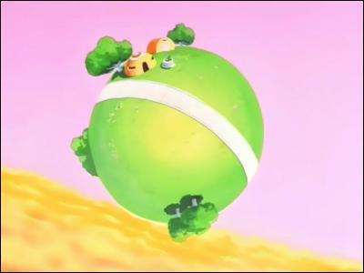 Par rapport à la Terre, de combien est la gravité de la petite planète de Kaïo ?