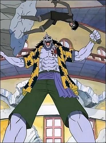 Épisode 38 - Luffy se retrouve coincé dans le sol ! Pour patienter, ses camarades combattent les sbires d'Arlong. Cochez les combats qui existent vraiment.