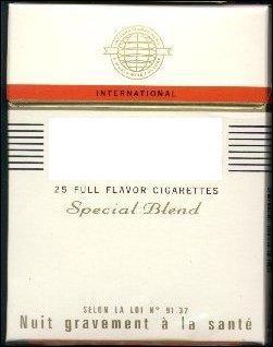 En France, les plus vendues sont en paquets de 30. Cigarettes au goût américain...