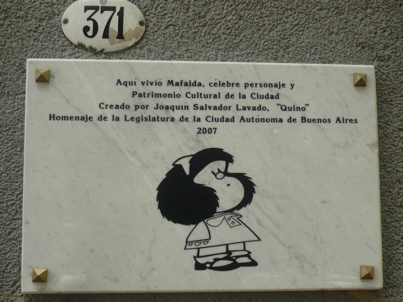 Amusons-nous avec Mafalda !
