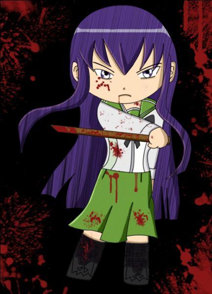 Highschool of the Dead : qui est cette fille qui est présidente du club de Kendo ?