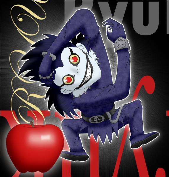 Death Note : qui est ce dieu de la mort qui a donné un cahier de la mort à Light et qui adore les pommes ?