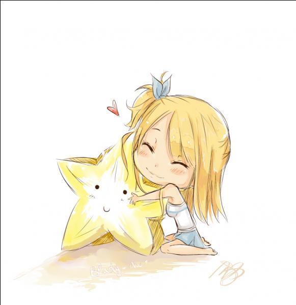 Fairy Tail : qui est cette blonde plutôt intelligente qui est constellationniste ?