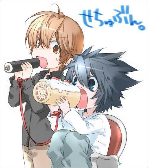 Death Note : ce garçon est Kira, il prendra la place de L quand celui-ci mourra d'une crise cardiaque causée par Rem :