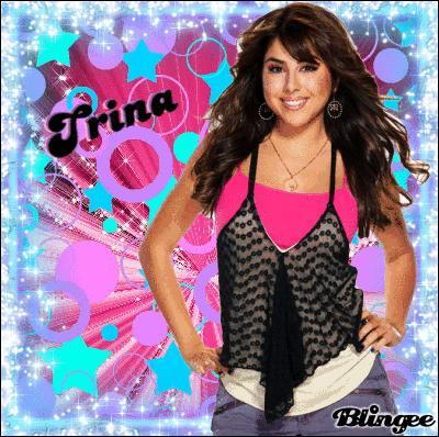 Qu'avait Trina dans les 2 mains quand Tori devait être son assistante ?