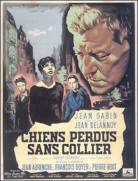 C'est de ce roman  Chiens perdus sans collier  que Jean Delannoy s'est inspiré pour son film du même nom sorti en 1955. Qui en est l'auteur ?