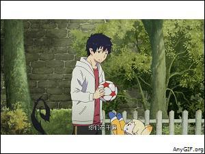À quel jeu joue Rin quand Renzô, Konekomaru et Ryûji débarquent pour emprunter la salle de bain ?