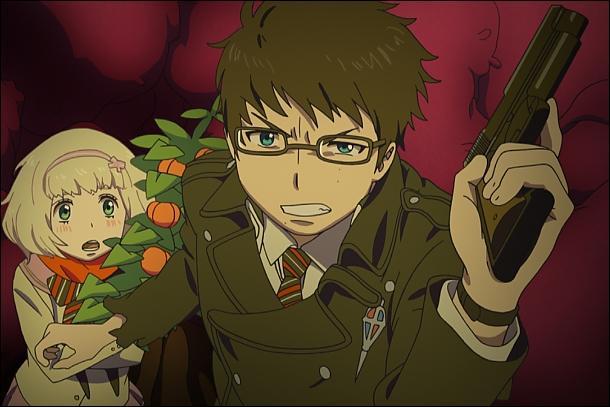 Comment s'appelle le démon que Rin, Yukio et Shiemi doivent exorciser au début du film ?