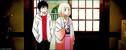Après leur mission (échec), quelle est la sentence que reçoivent Rin et Shiemi ?