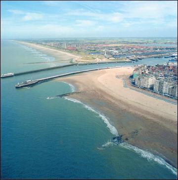 Vous partez du port d'Ostende, en Belgique, pour une petite croisière en bateau. À la sortie du port, sur quel(le) mer ou océan vous trouvez-vous ?