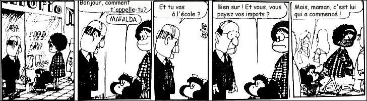 Et puisque nous sommes à l'école, j'ai compté 4 fautes dans cette version traduite en français. Qu'en pensez-vous ?