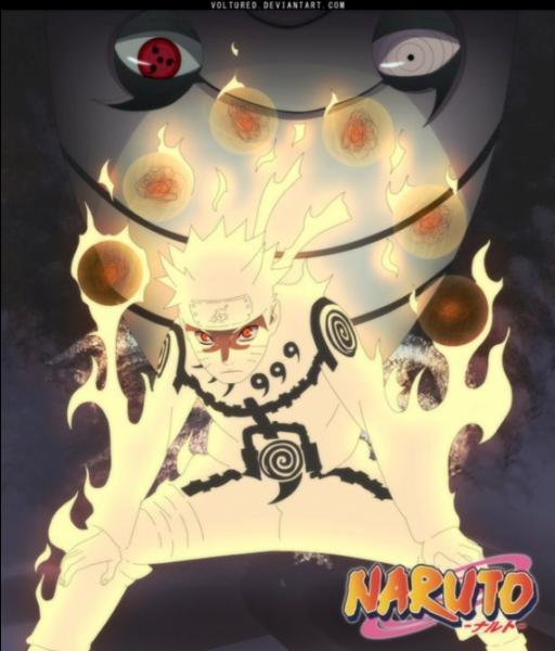 Naruto se rend sur le champ de bataille de :