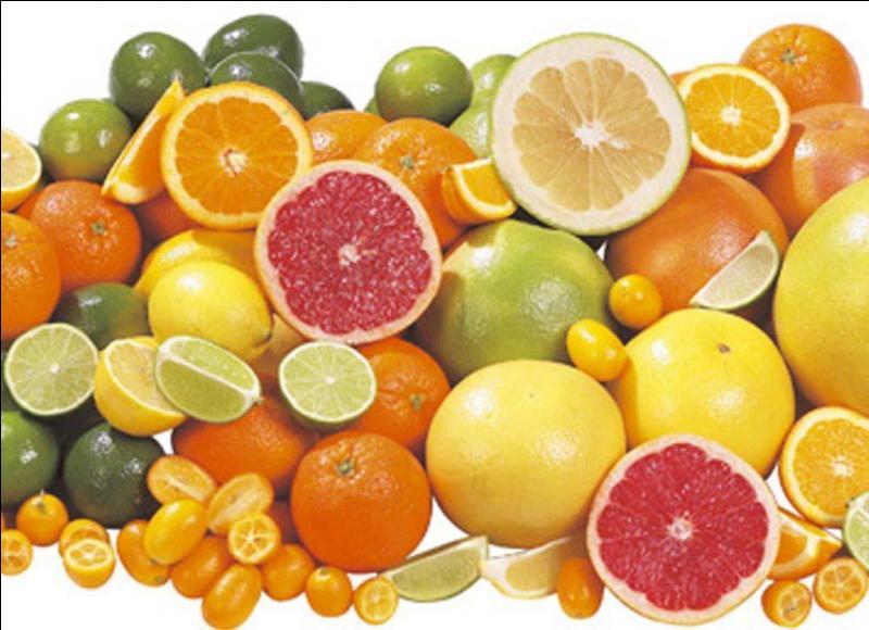 Quel fruit parmi ceux-ci n'est pas un agrume ?