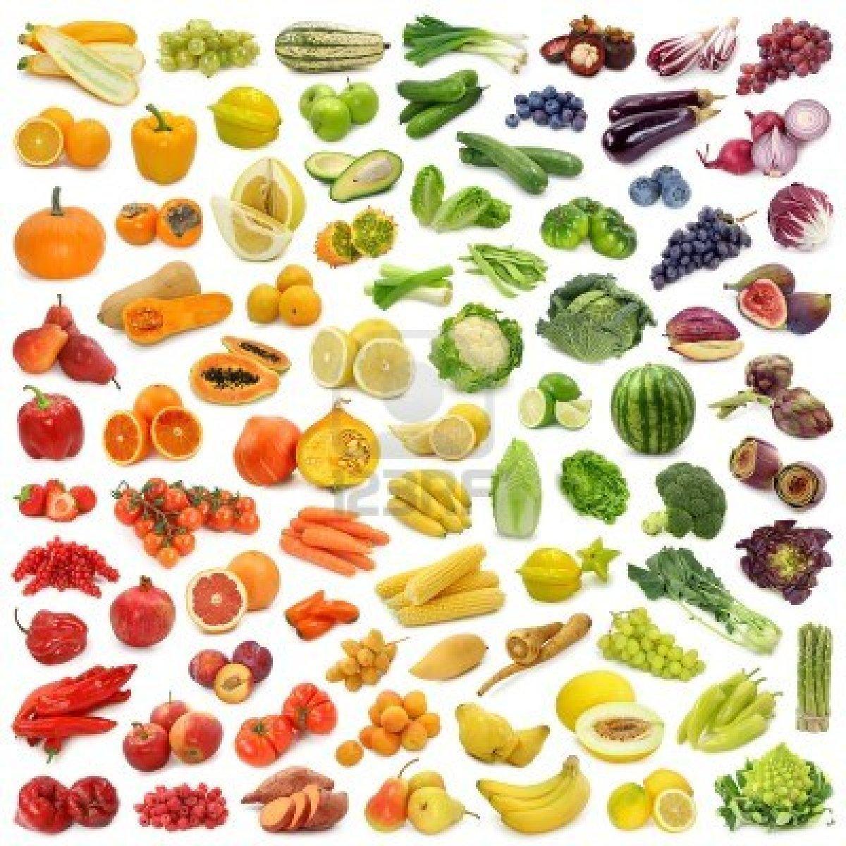 Les fruits et légumes