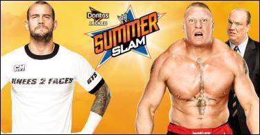 CM Punk vs Brock Lesnar : qui est le vainqueur ? (No DQ match)