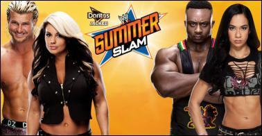 Dolph Ziggler & Kaitlyn vs Big E Langston & AJ Lee : qui sont les vainqueurs ?
