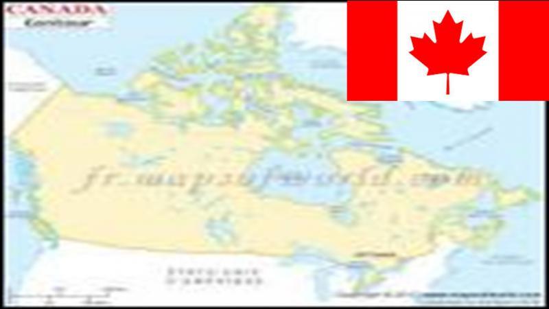 Le Canada ne possède de frontière qu'avec les Etats-Unis. Quel est l'altitude de son point culminant (le Mt Logan) ?