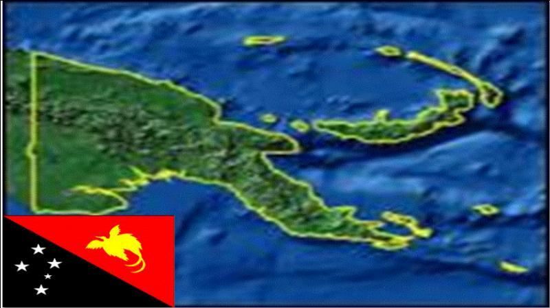 La Papouasie-Nouvelle-Guinée est un pays de l'océan Pacifique ne partageant sa frontière qu'avec l'Indonésie. Sur quelle île se trouve cette frontière ?