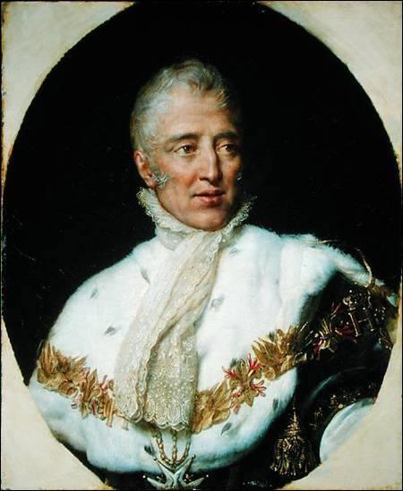 Années de naissance et de mort de Charles X :