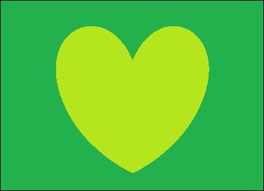 De quelle couleur est ce cœur ?