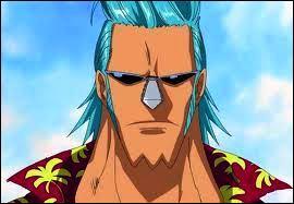 Ses parents étaient des pirates et l'ont abandonné en mer. Il a la capacité de construire l'arme antique, Pluton, avec Nico Robin. Le prénom qu'on lui a donné, c'est Franky. Mais quel est vraiment son prénom ?