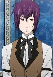 Ce personnage est au service de la maison Trancy. Il a deux frères. Ce sont tous les trois des démons. Il se tient toujours entre ses frères. Qui est-ce ?