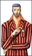 Cet homme est le maire de Water Seven. Il était l'un des apprentis de Tom avec Franky. Qui est-ce ?